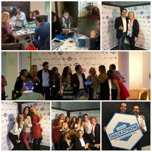 El equipo organizador del Legal Hackathon Barcelona