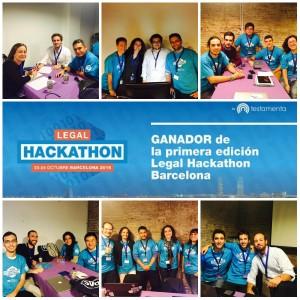 Los 6 equipos del Legal Hackathon Barcelona